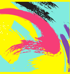 abstract online bright grunge hand drawn vector image
