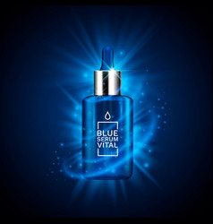 beauty product advertising concept for cosmetic vector image
