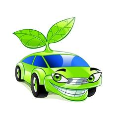 Eco friendly car vector