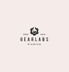 gear labs logo icon vector image