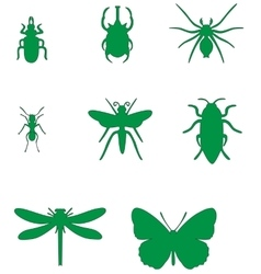 Insect set 02 vector image