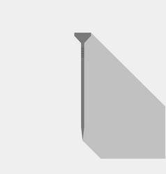nail icon vector image