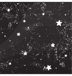 Night sky full of stars vector