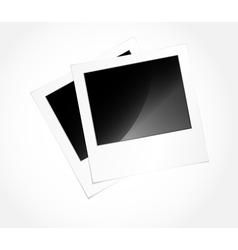 Photo frames in art vector