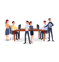 professional business team vector image