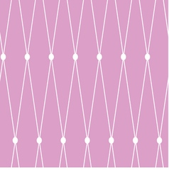 seamless background White grid on the pink vector image
