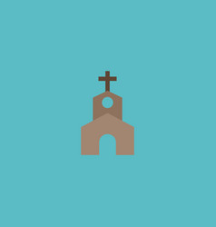 flat icon church element of vector image