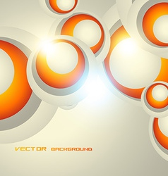 circle design background vector image