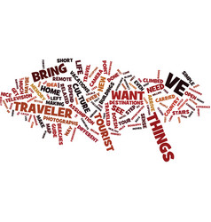 Are you a traveler text background word cloud vector