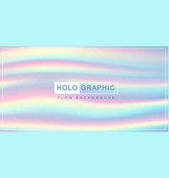 holographic pearl fllow abstract background vector image
