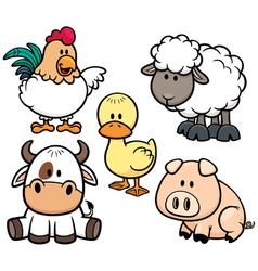 Animals Farm vector image