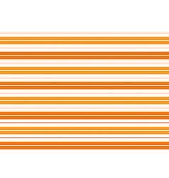 Orange White Stripes Background vector image