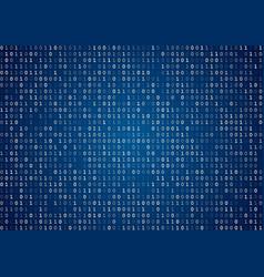 Blue binary code vector