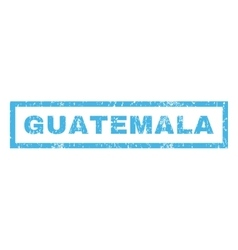 Guatemala Rubber Stamp vector image