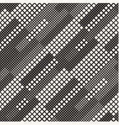 Modern stylish halftone texture with random size vector