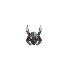 Samurai shogun creative logo vector