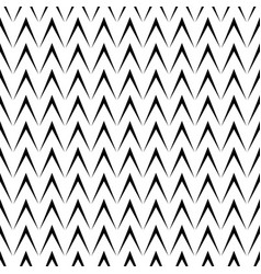 seamless pattern with geometric herringbone vector image