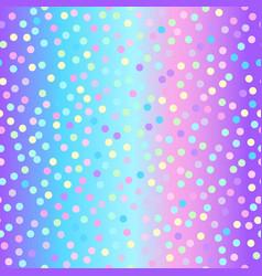 spot glitter background vector image