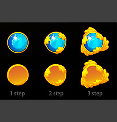 Step improvements to gold template vector
