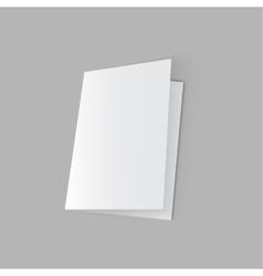 White blank vector image