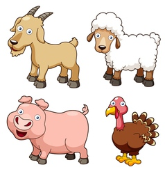 Animal farm vector image vector image