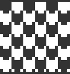 seamless geometric pattern tiled ornament vector image vector image