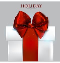 Elegant Christmas gifts background vector image
