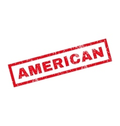 American Rubber Stamp vector
