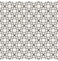 Circle Overlapping Line Lattice Seamless vector