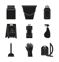 Cleaning service design vector