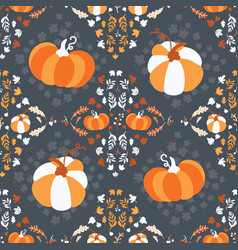 seamless pattern for thanksgiving celebration vector image