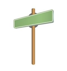 StreetSIGN green vector image