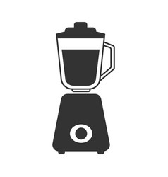 a gray stationary blender icon vector image vector image