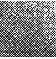 abstract halftone background texture of black dots vector image