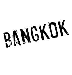 Bangkok stamp rubber grunge vector image