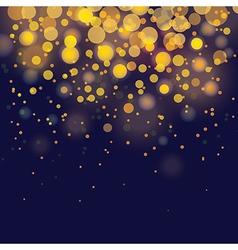 bokeh Festive background vector image