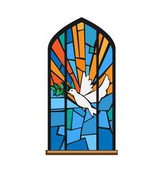 Church window iconcartoon icon vector