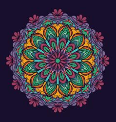 Complex mandala pattern vector
