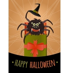 Funny surprise for Halloween vector