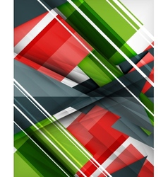 Geometrical colorful shapes abstract background vector