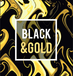 gold jewelry on a black background vector image