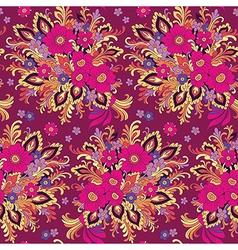 Pattern bouquet vector