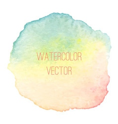 WatercolorRainbowSpot vector