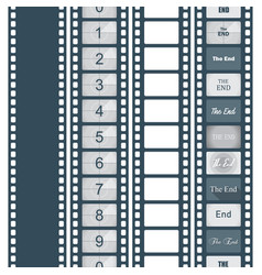 timer countdown cinema isolated from the vector image