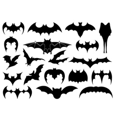 different bats vector image