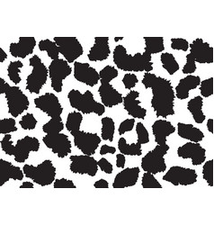 abstract animal skin leopard seamless pattern vector image
