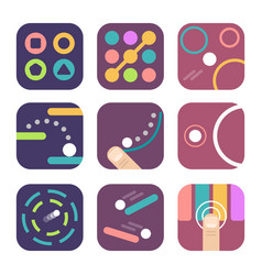 app icon templates vector image