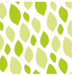 fun summer patterns with multicolored leaves vector image