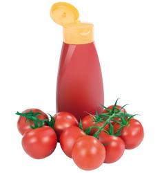 Ketchup vector