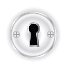Key hole vector